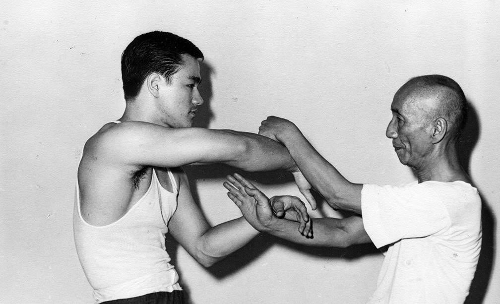 Wing Chun Master Yip Man And Bruce Lee